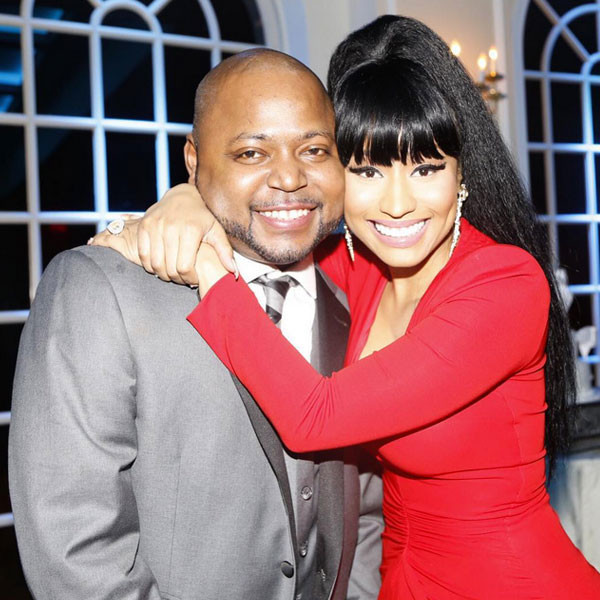 Nicki Minaj Looks Red Hot at Her Older Brother's Wedding—See the