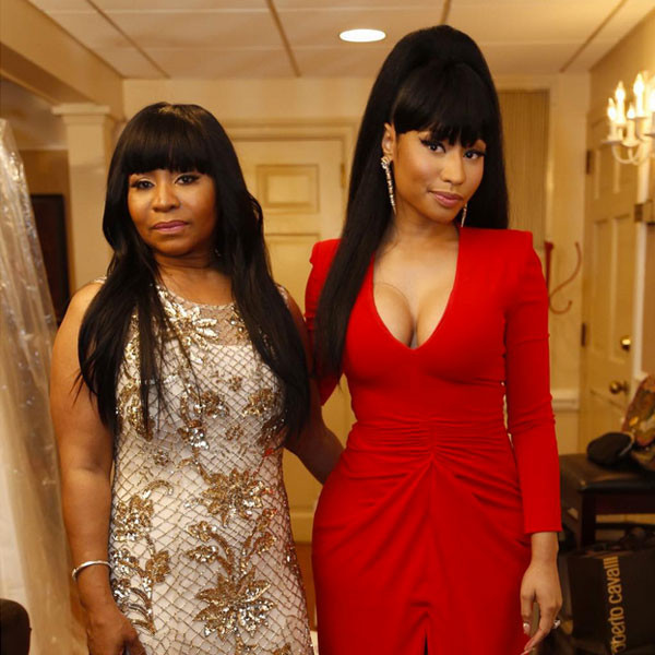 Nicki Minaj Looks Red Hot at Her Older Brother's Wedding ...