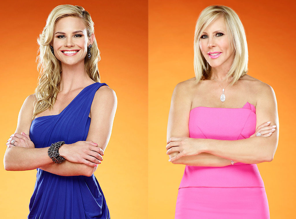 Vicki Gunvalson, Meghan King Edmonds, Real Housewives of Orange County