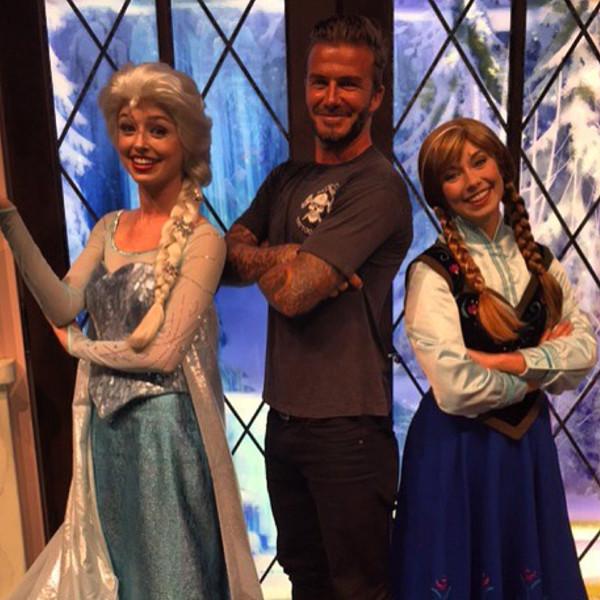 David Beckham, Disney