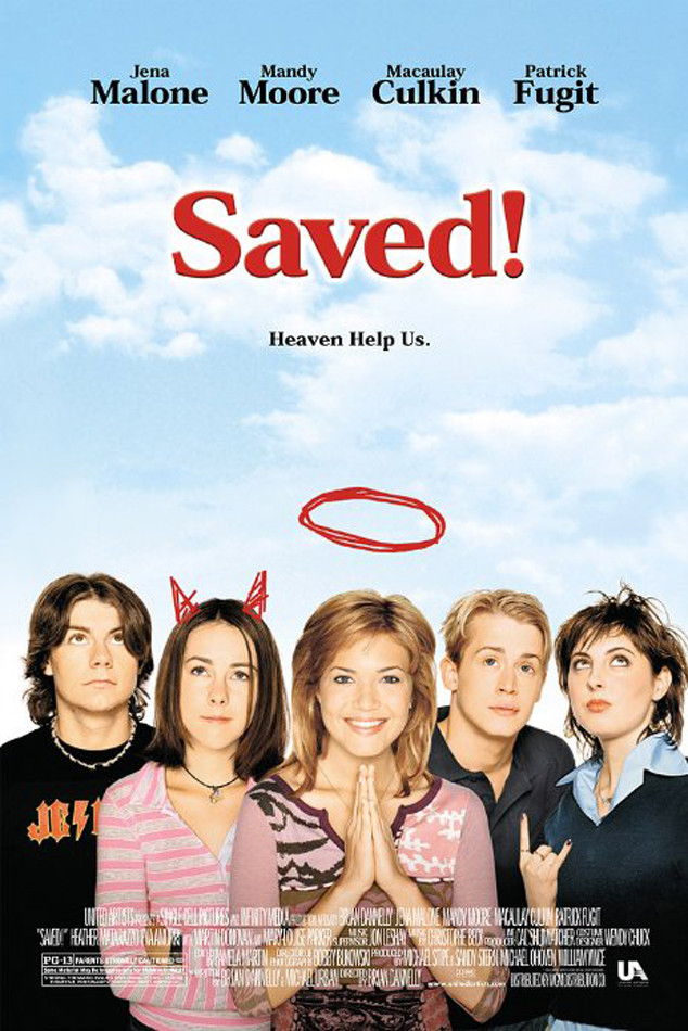 Saved DVD cover