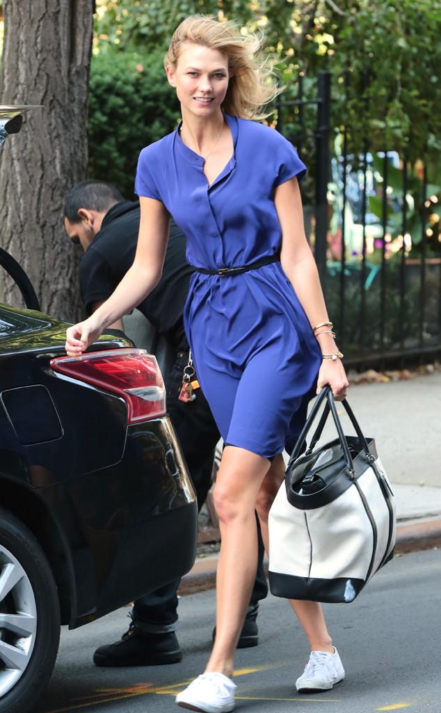 Karlie Kloss, Street Style