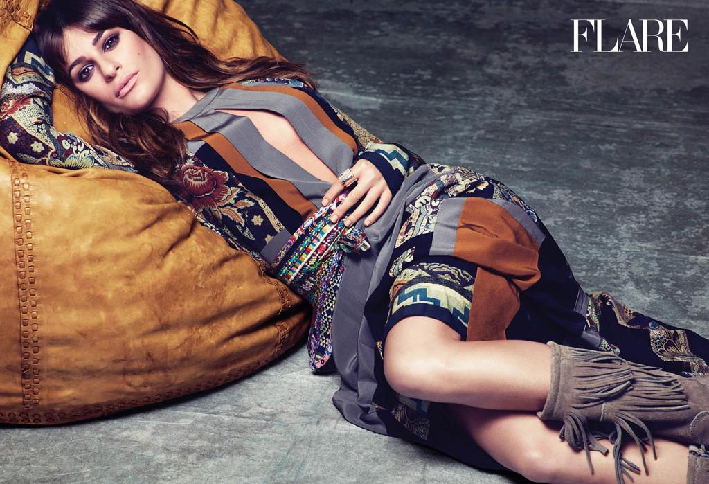 Lea Michele, FLARE