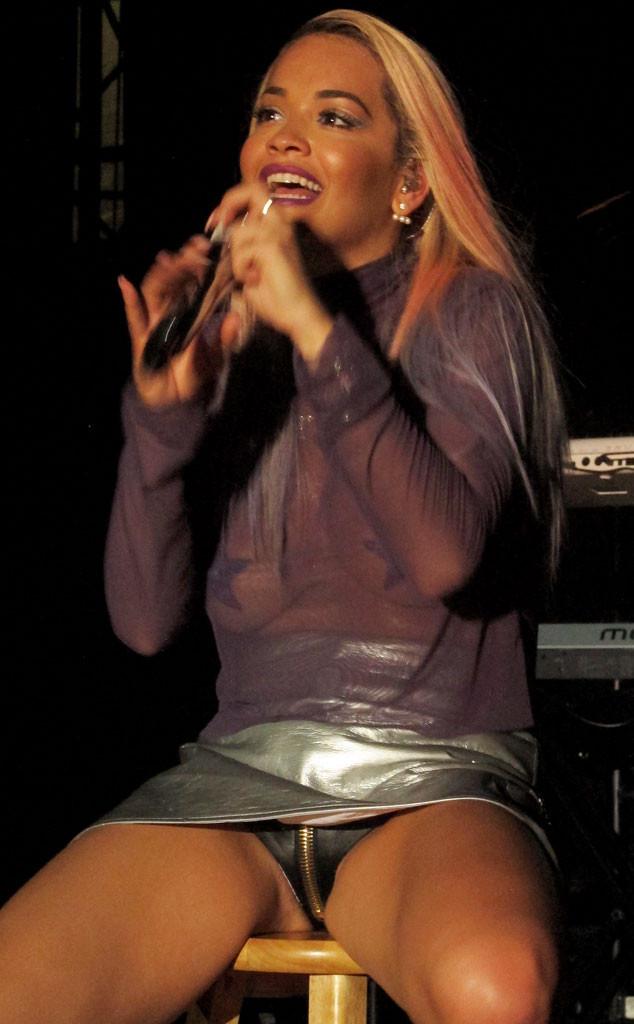 Rita Ora, Crotch Zipper