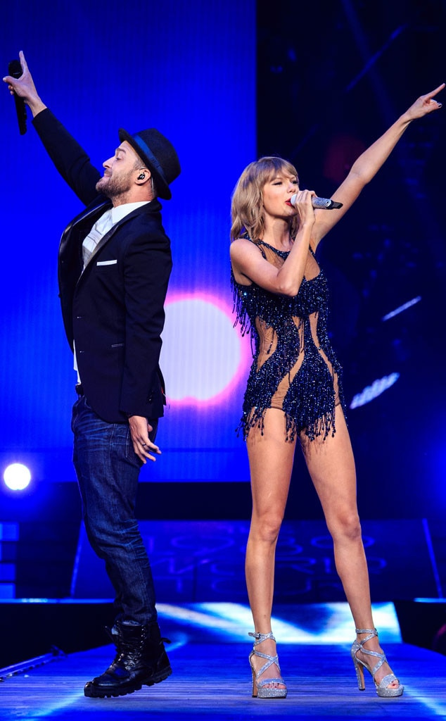 Justin Timberlake from Taylor Swift's Celeb Concert Cameos ... - photo#42