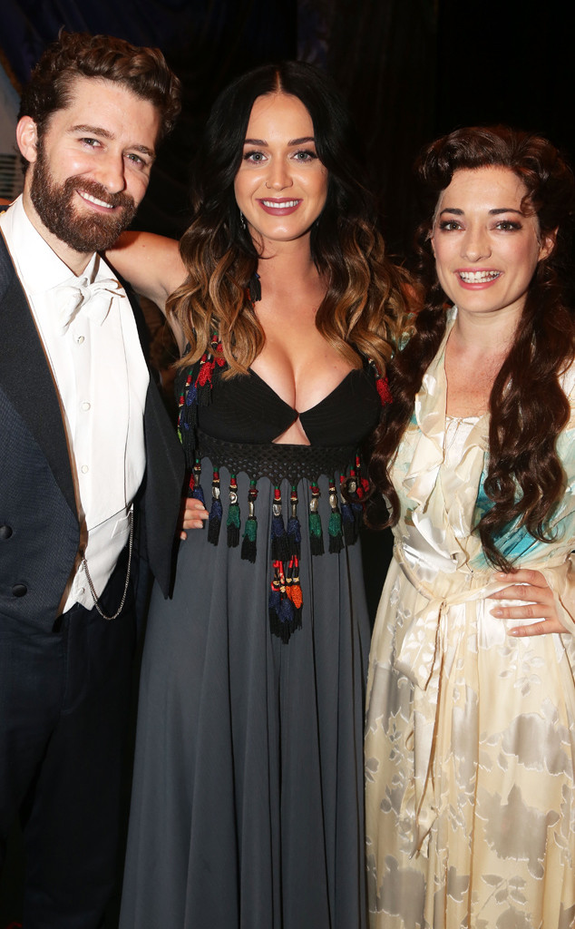Matthew Morrison, Katy Perry and Laura Michelle Kelly