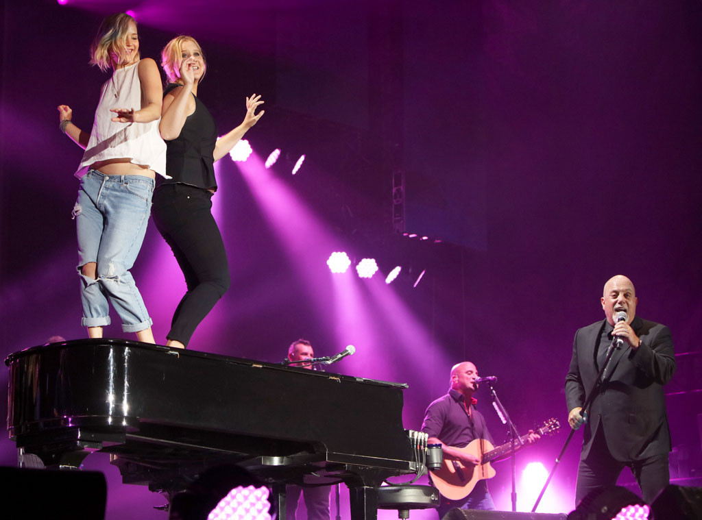 Jennifer Lawrence, Amy Schumer, Billy Joel