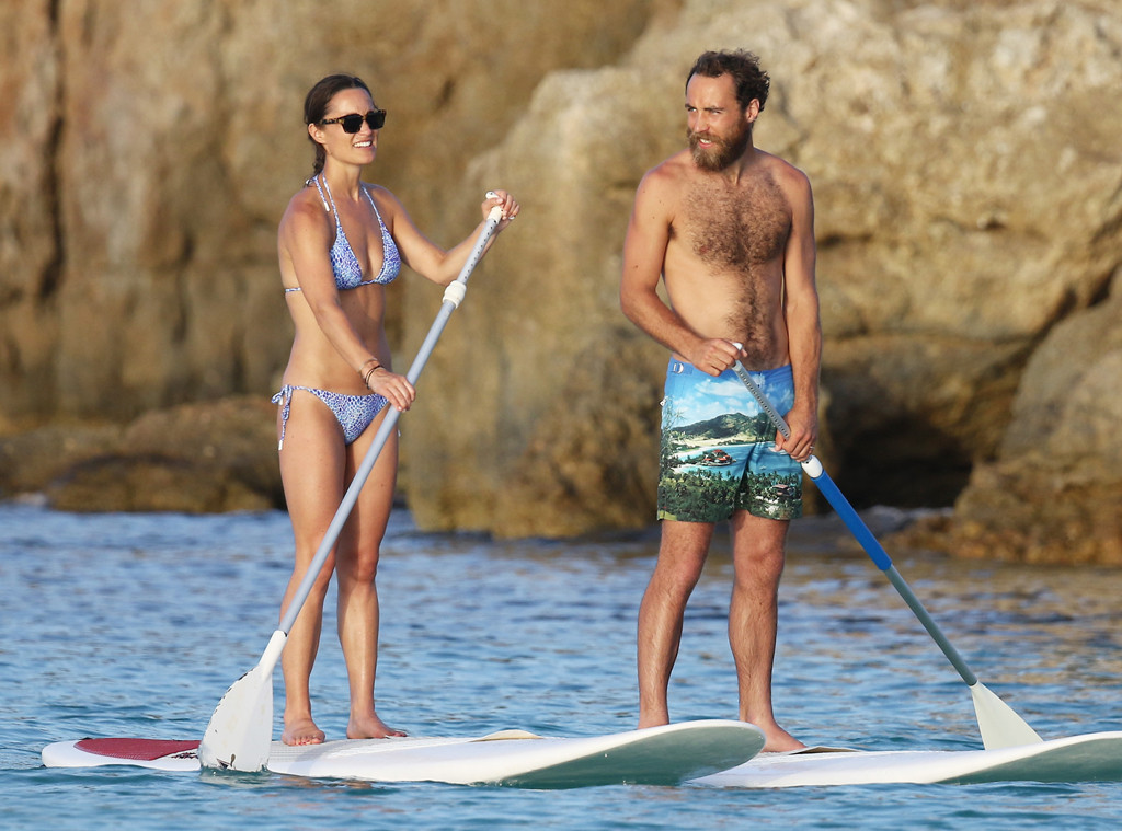 **embargoed until 8/29 5am pst Pippa Middleton, James Middleton