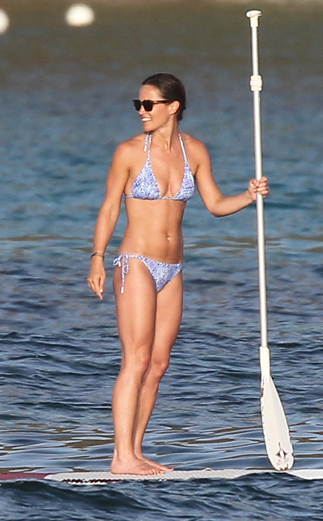 Pippa Middleton, Paddleboard