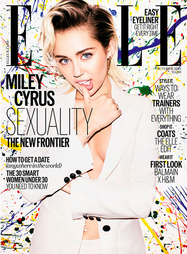 Miley Cyrus, ELLE UK