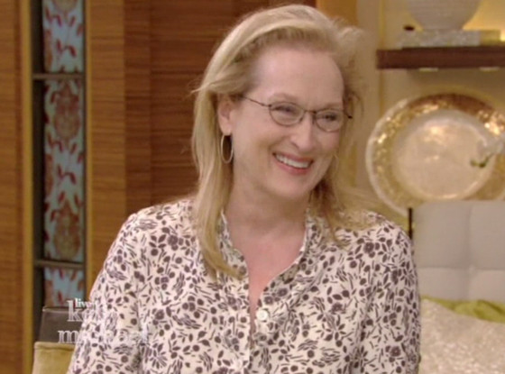 Meryl Streep, Live! with Kelly and Michael