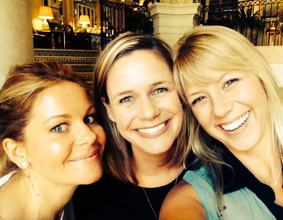 Fuller House, Candace Cameron Bure, Andrea Barber, Jodie Sweetin