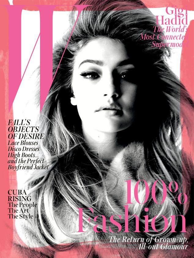 Gigi Hadid, W Magazine