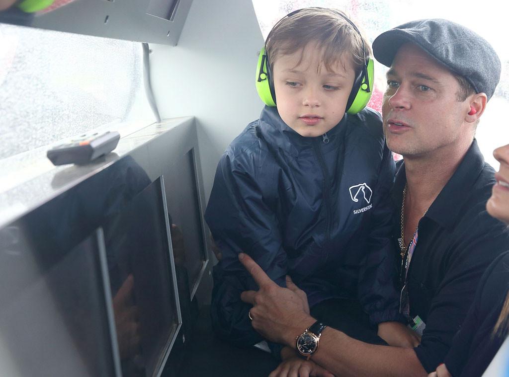 Brad Pitt, Knox Jolie-Pitt