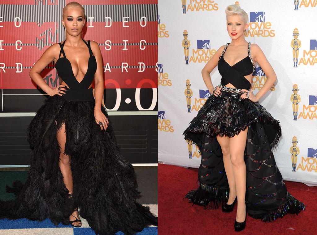 Christina Aguilera, Rita Ora