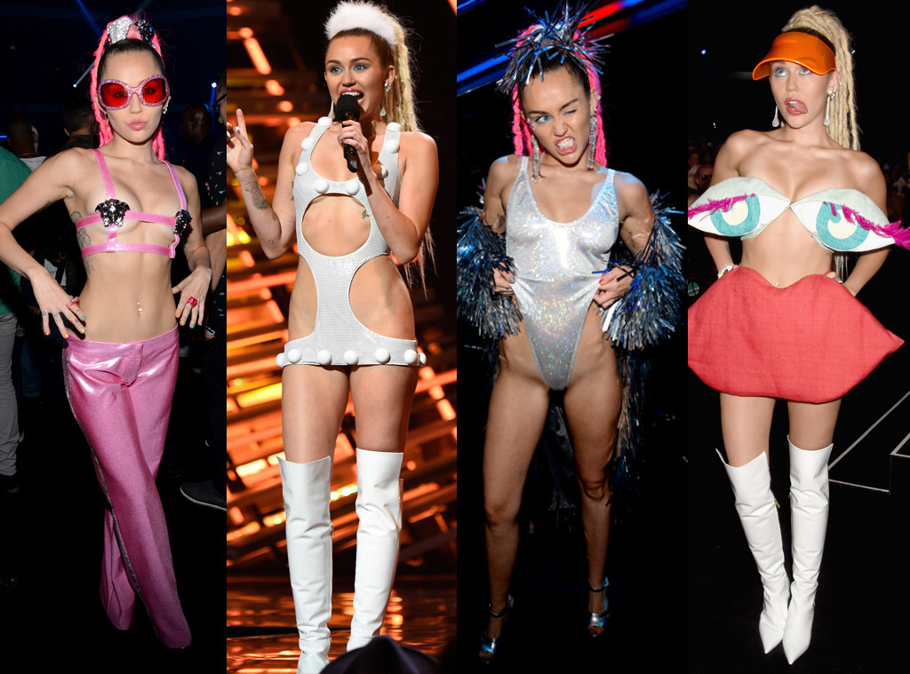 All Of Miley Cyrus Wildest Or Otherwise Naked Outfits -5423