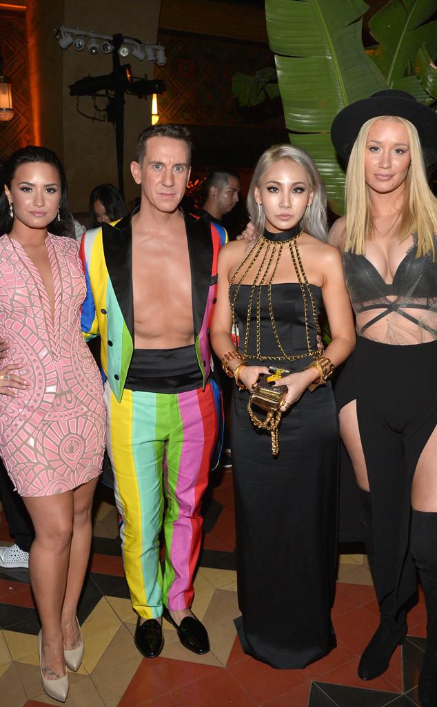 Demi Lovato, Iggy Azalea, CL, Jeremy Scott