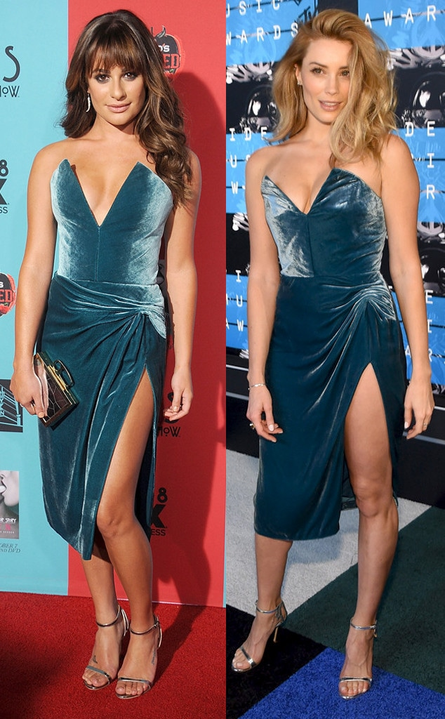 Lea Michele, Arielle Vandenberg