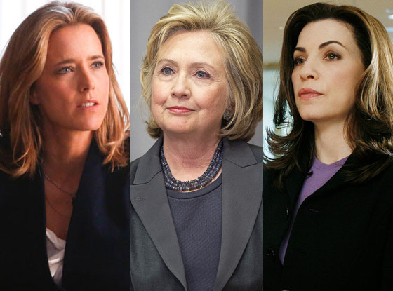 Tea Leoni, Madam Secretary, Hillary Clinton, The Good Wife, Julianna Margulies