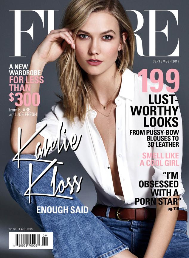 Karlie Kloss, Flare Magazine