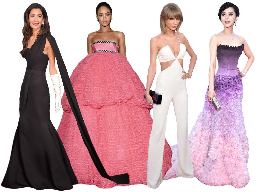 Vanity Fair Best Dressed List, Amal Clooney, Rihanna, Fan Bingbing, Taylor Swift, Rihanna