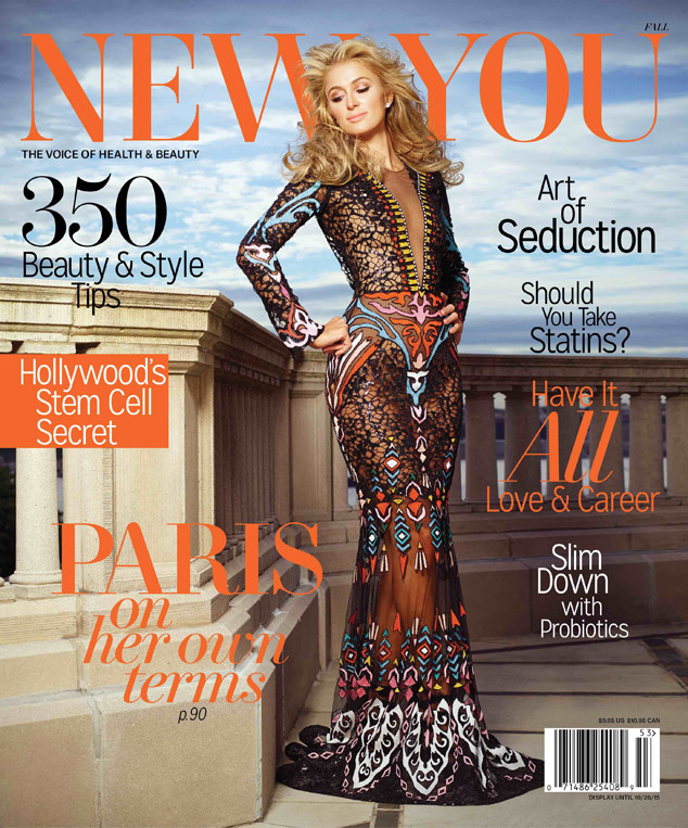 Paris Hilton, New You Magazine
