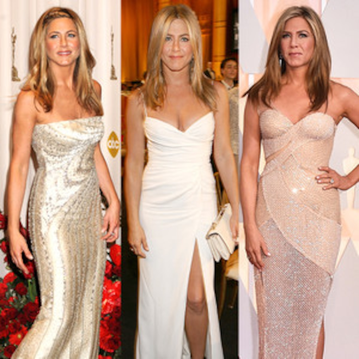 Jen Aniston S Wedding Dress What We Think The Bride Wore E News