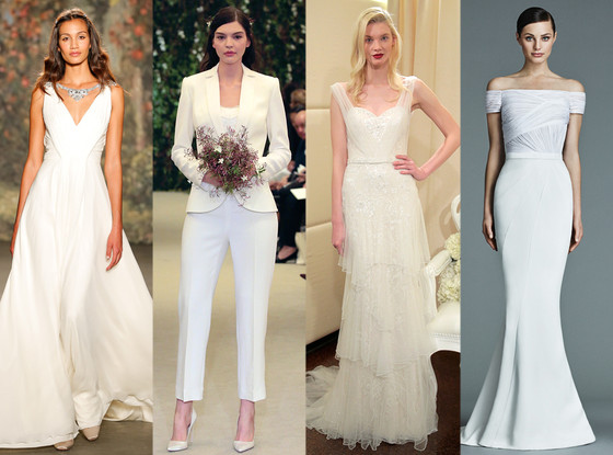 Jen Aniston S Wedding Dress What We Think The Bride Wore E