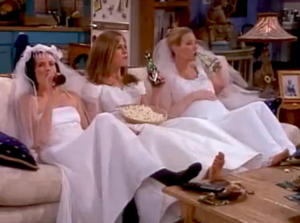 Jennifer Aniston, Friends,Wedding Dress