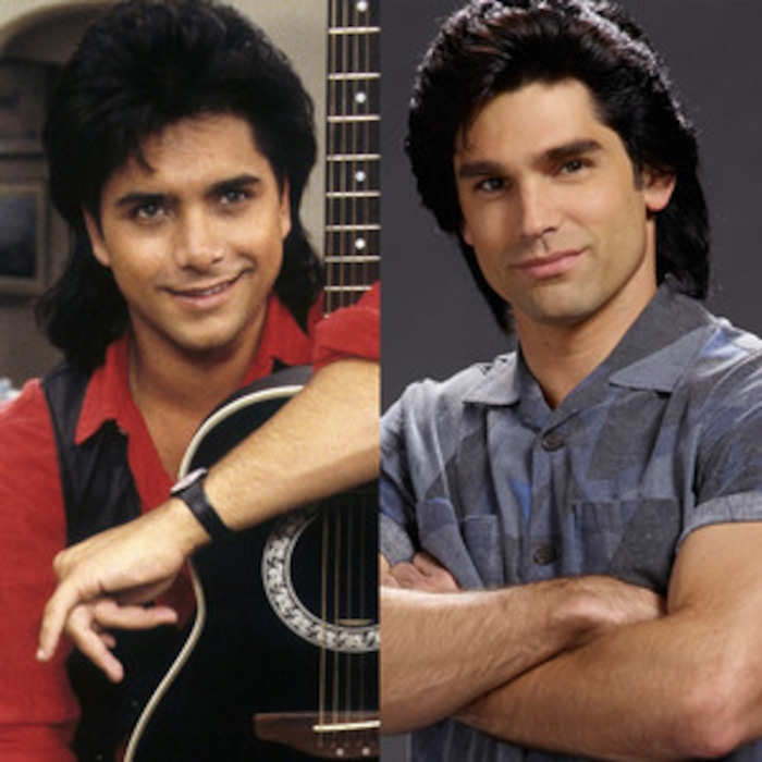 John Stamos Makes Fun Of His Full House Hair It Was Like Two Crows Died On My Head