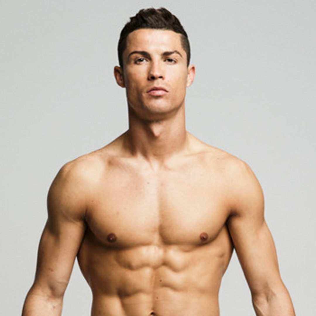 Cristiano Ronaldo Puts His Un-Retouched Body on Display in