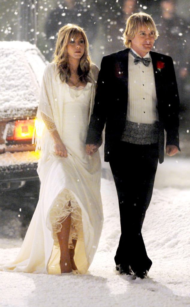 Jennifer Aniston, Wedding Dresses