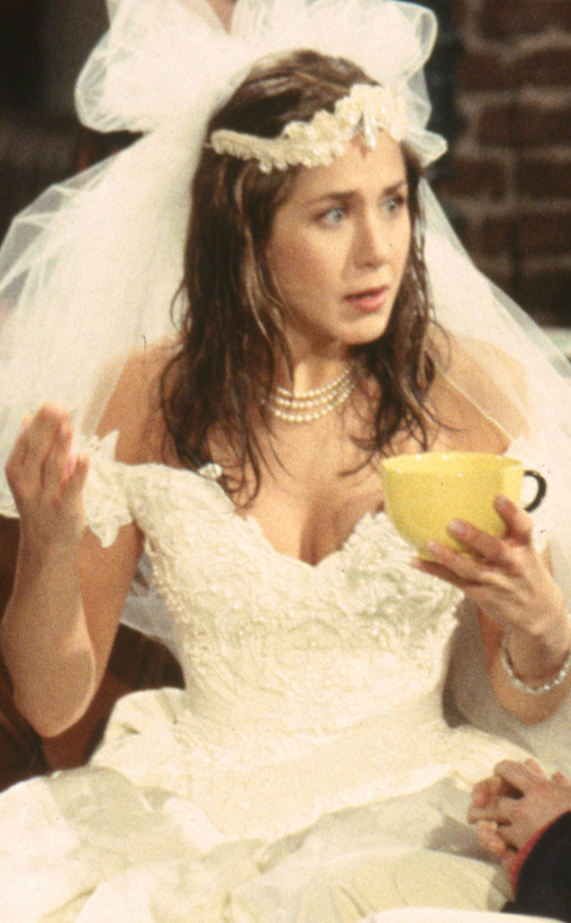 Jennifer Aniston, Friends, Wedding Dress