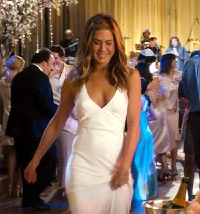 mira todos los vestidos de novia que jennifer aniston usó (+ fotos