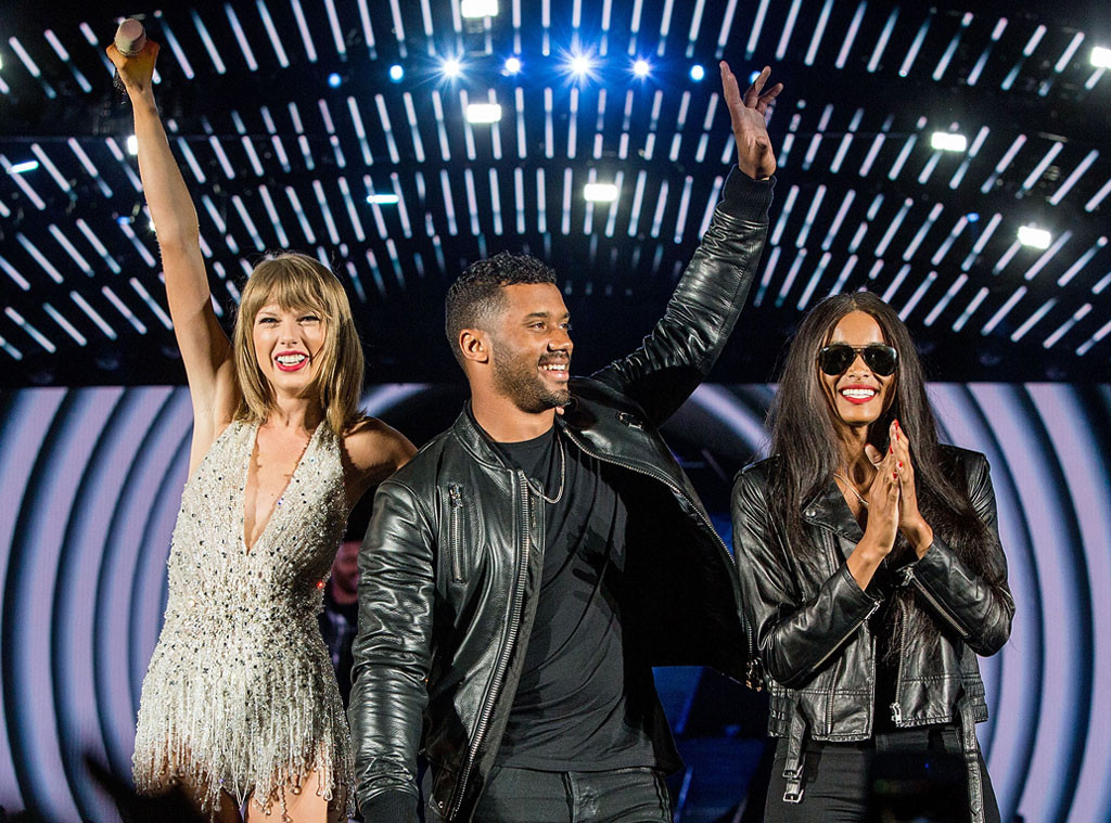 Ciara And Russell Wilson Officially Join Taylor Swift S Squad E Online