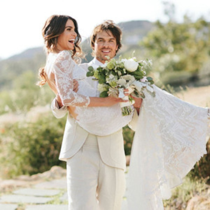 Nikki reed and ian somerhalder stun in newly released wedding pics nikki reed and ian somerhalder stun in newly released wedding pics e news france junglespirit Gallery