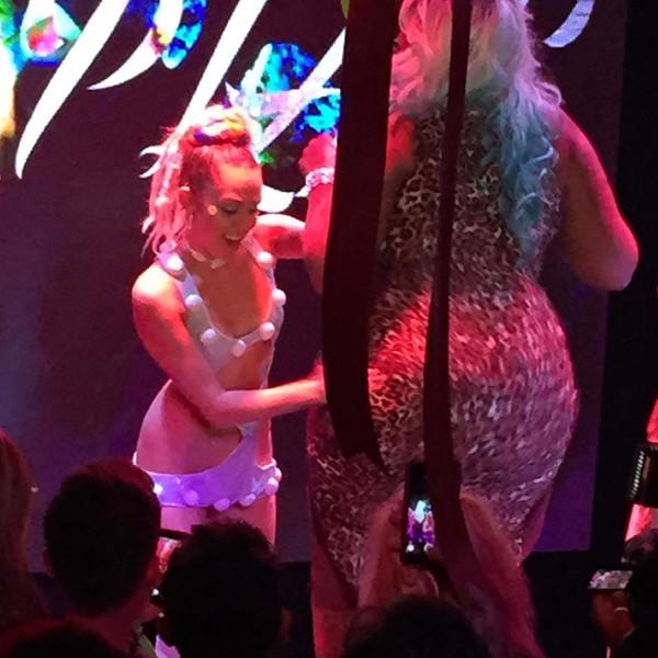 Miley Cyrus, Post VMA Party