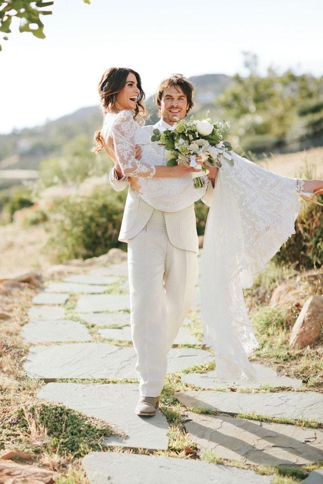 Brides Magazine, Ian Somerhalder, Nikki Reed