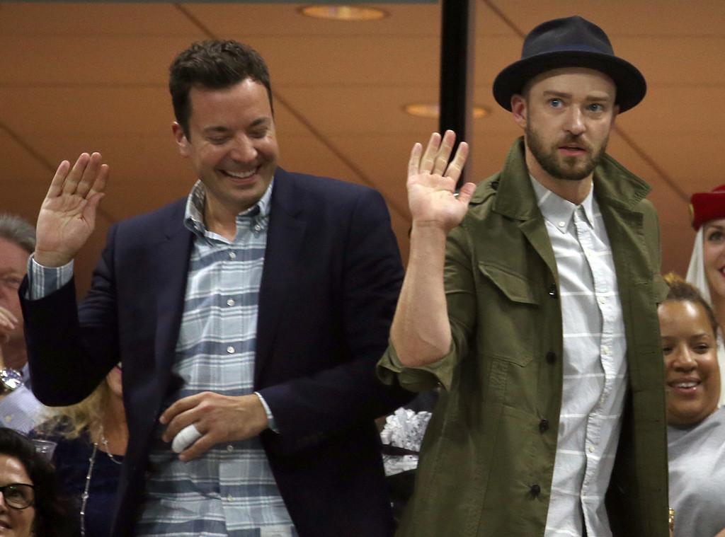 Jimmy Fallon, Justin Timberlake, US Open