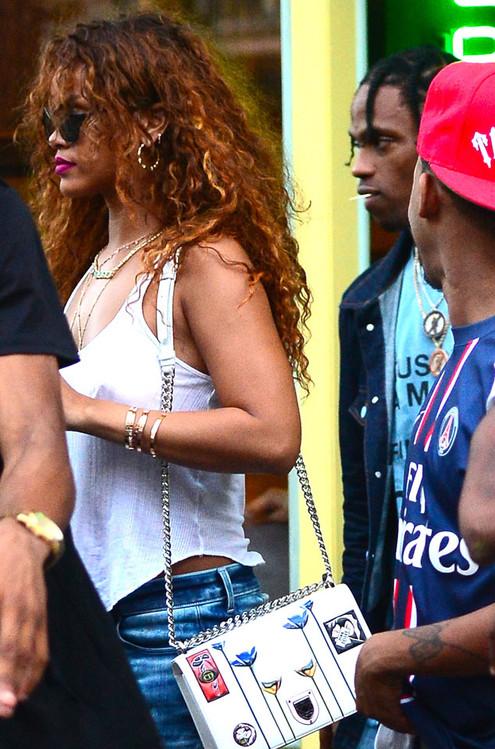 Rihanna, Travis Scott