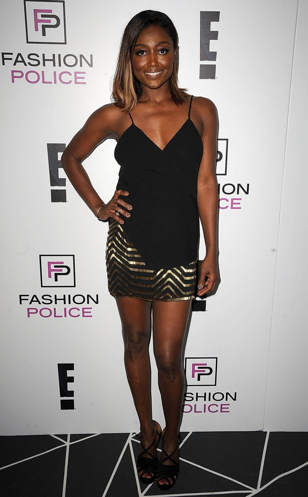 Patina Miller from E! New York Fashion Week Kick-Off Party ...