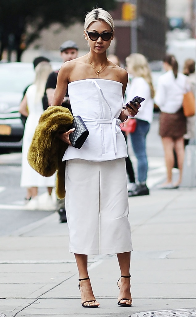 Vanessa Hong From Street Style At New York Fashion Week Spring 2016 E News