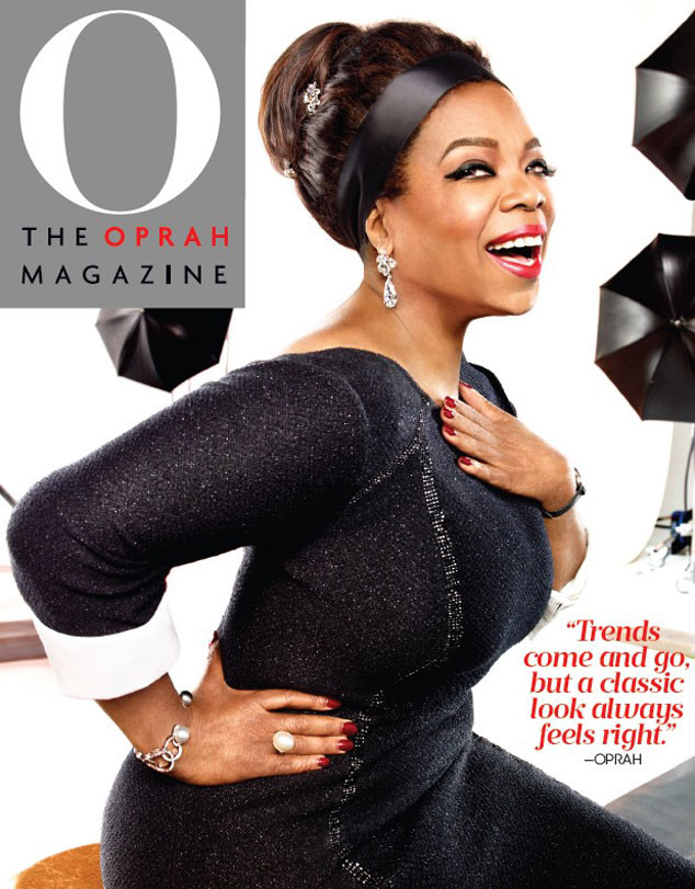 Oprah, O Magazine, October 2015