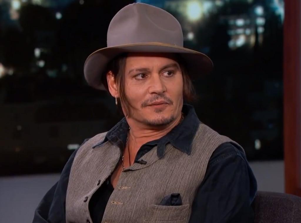 Johnny Depp, Jimmy Kimmel