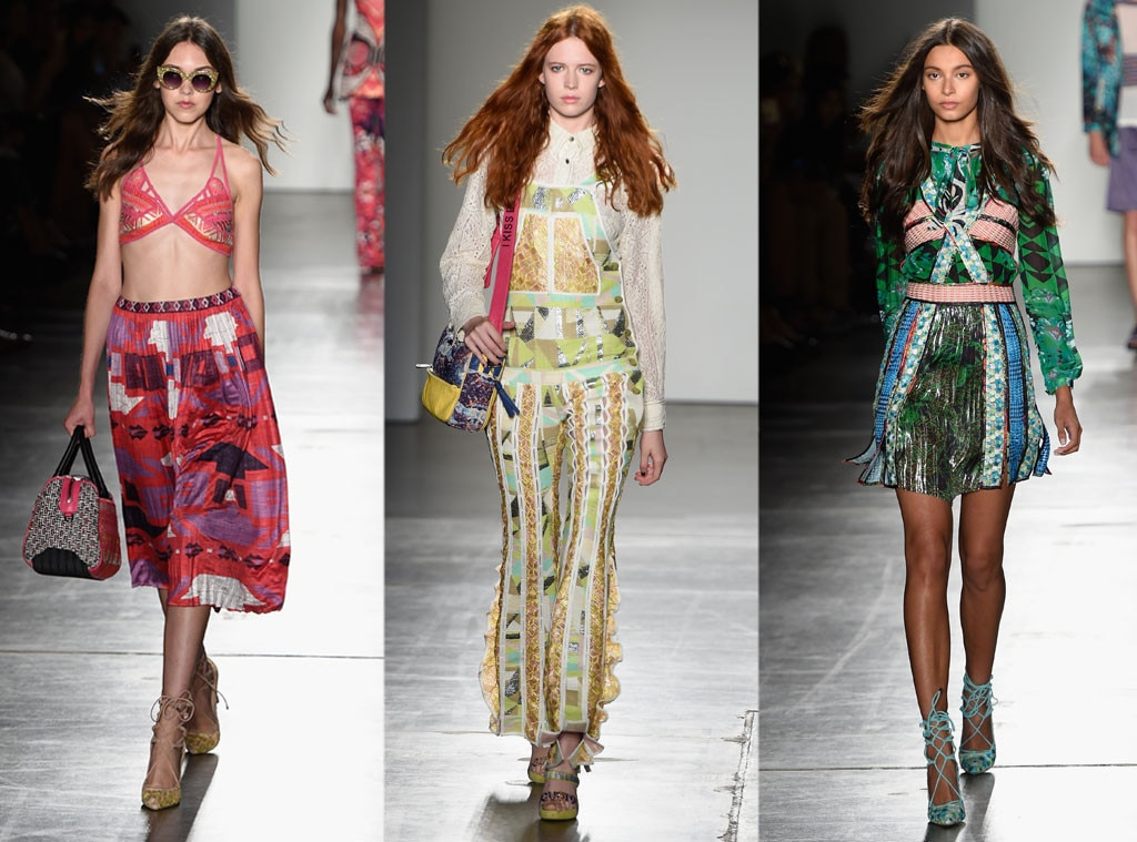 official photos 54fa3 fa214 Custo Barcelona from Best Shows at New York Fashion Week ...