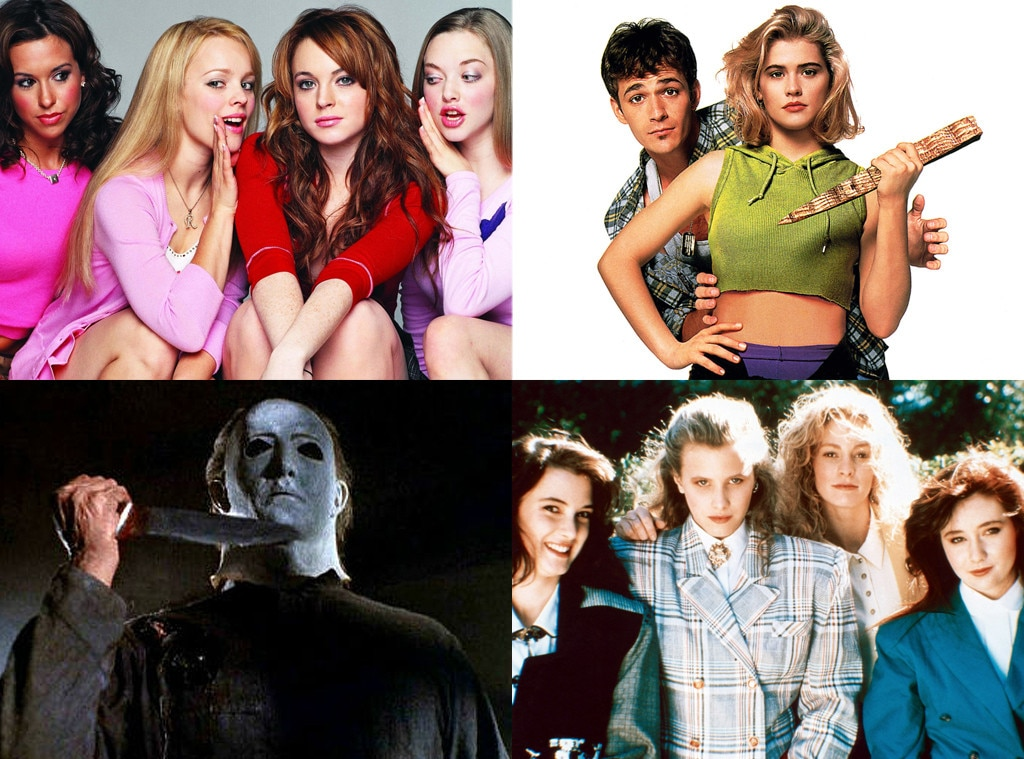 Heathers, Mean Girls, Buffy the Vampire Slayer, Halloween