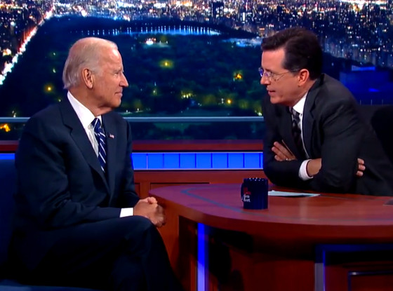 Joe Biden, The Late Show with Stephen Colbert