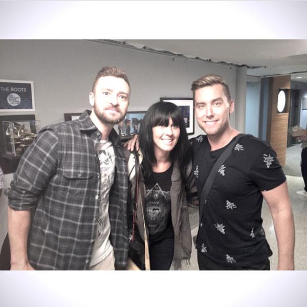 Lance Bass, Justin Timberlake, WhoSay