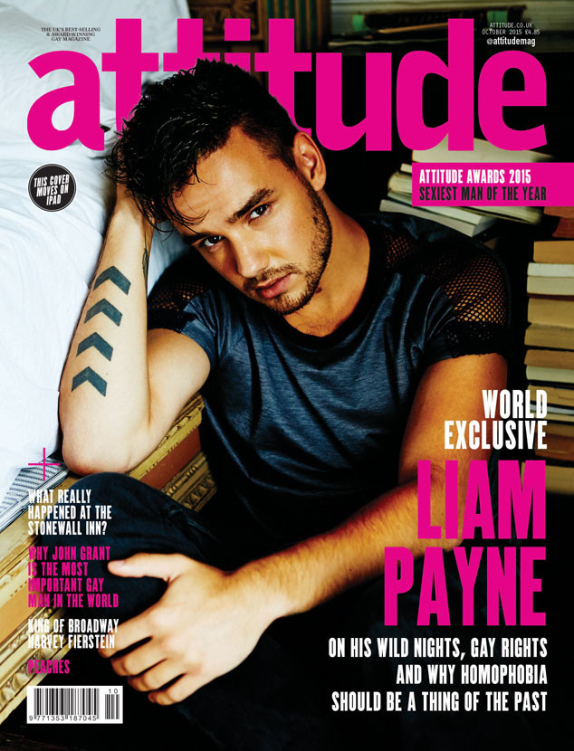 Liam Payne Covers Gay Magazine Attitude, Talks Drinking, Partying