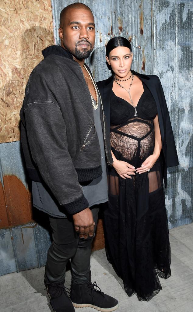 Kanye West, Kim Kardashian, Givenchy, NYFW
